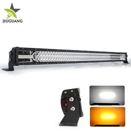 China Jeep Wrangle Led Strobe Light Bar Four Modes White And Amber Light Color factory
