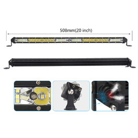 China 110 M / W Lumen UTV Led Light Bar 6000 K Combo Beam OEM / ODM Service factory