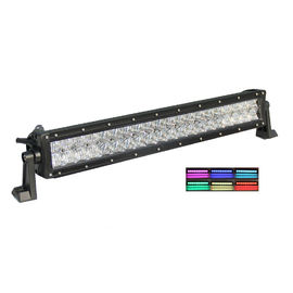 China 5D Reflector UTV Led Light Bar , Color Changing Led Light Bar For Truck factory