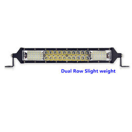 Thin 2 Row UTV Led Light Bar Aluminum Housing For 10 Inch Tow Truck