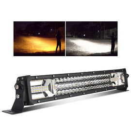 3 Rows Warning Jeep Led Light Bar Strobe Dual Color Easy Maintenance