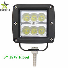 China Waterproof 18w Led Work Light Auto Lighting Spot Flood Beam Square Shape factory