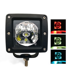 Bright Jeep Off Road Led Work Lights Remote Control Flash PMMA LENS