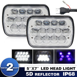 China Low High 5x7 Led Projector Headlights Auto Brighter Replace OEM Service factory