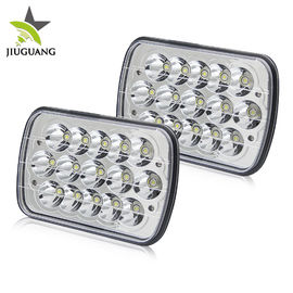 China 5x7 Car Accessories High Low Beam LED Headlights For Wrangler CJ TJ JK factory
