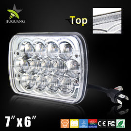 China CREE 5x7 Led Replacement Headlights / Square Led Auto Headlights For Jeep Truck factory