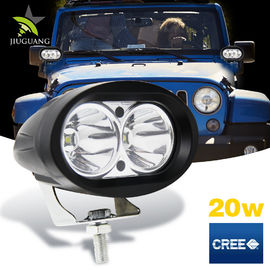Super Bright 20w Motorcycle Off Road Led Work Lights 4 Inch 1500lm Three Color
