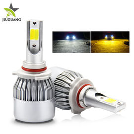 China High Power Car H4 Led Headlight Bulb / 12V Cob C6 Led Headlight Super Bright factory