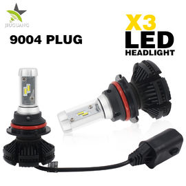 Auto Yellow Amber White Led Car Headlight Bulbs 30000 Hours Operating Life