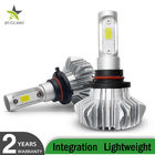 Fanless 60W H13 H7 H4 Led Car Headlight Bulbs 12000 Lumen For Auto Vehicle